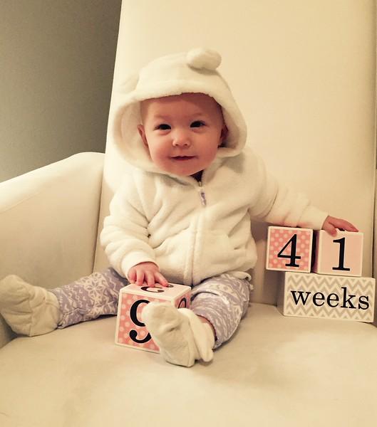 41 weeks 1