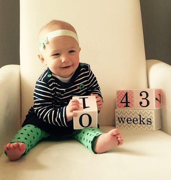 43 weeks 2